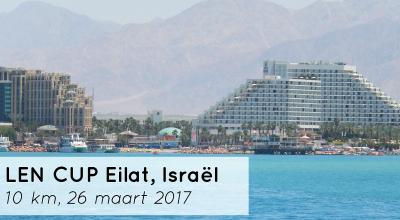 Eilat LEN Cup: eerste openwaterwedstrijd van 2017