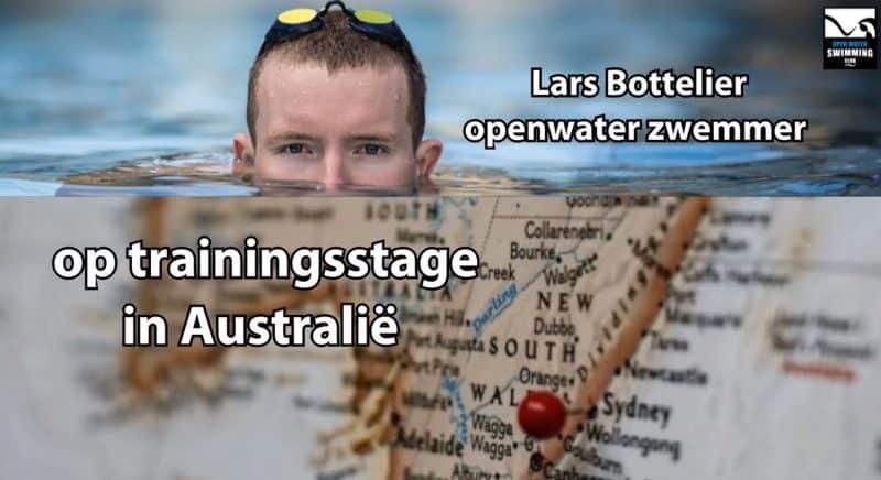 Interview Australië - Lars Bottelier professioneel open water zwemmer (zwemmen) gaat in 2019 op trainingsstage in Australië om mee te trainen met de Australische top club Perth City Swimming Club. Volg hem in zijn zwem blog!