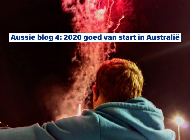 2020 goed van start in Australië - Aussie blog 4. 100x100m in Australië
