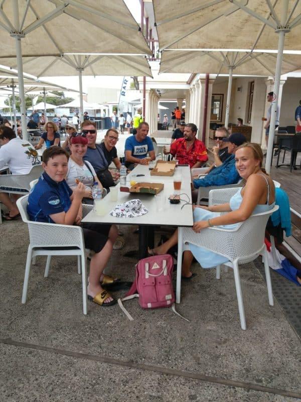 Team Rotto 2020 - Lars Bottelier en zijn crew en supporters - op naar de gouden medaille openwaterzwemmer en zwemblog Lars in zijn Road to Parijs 2024