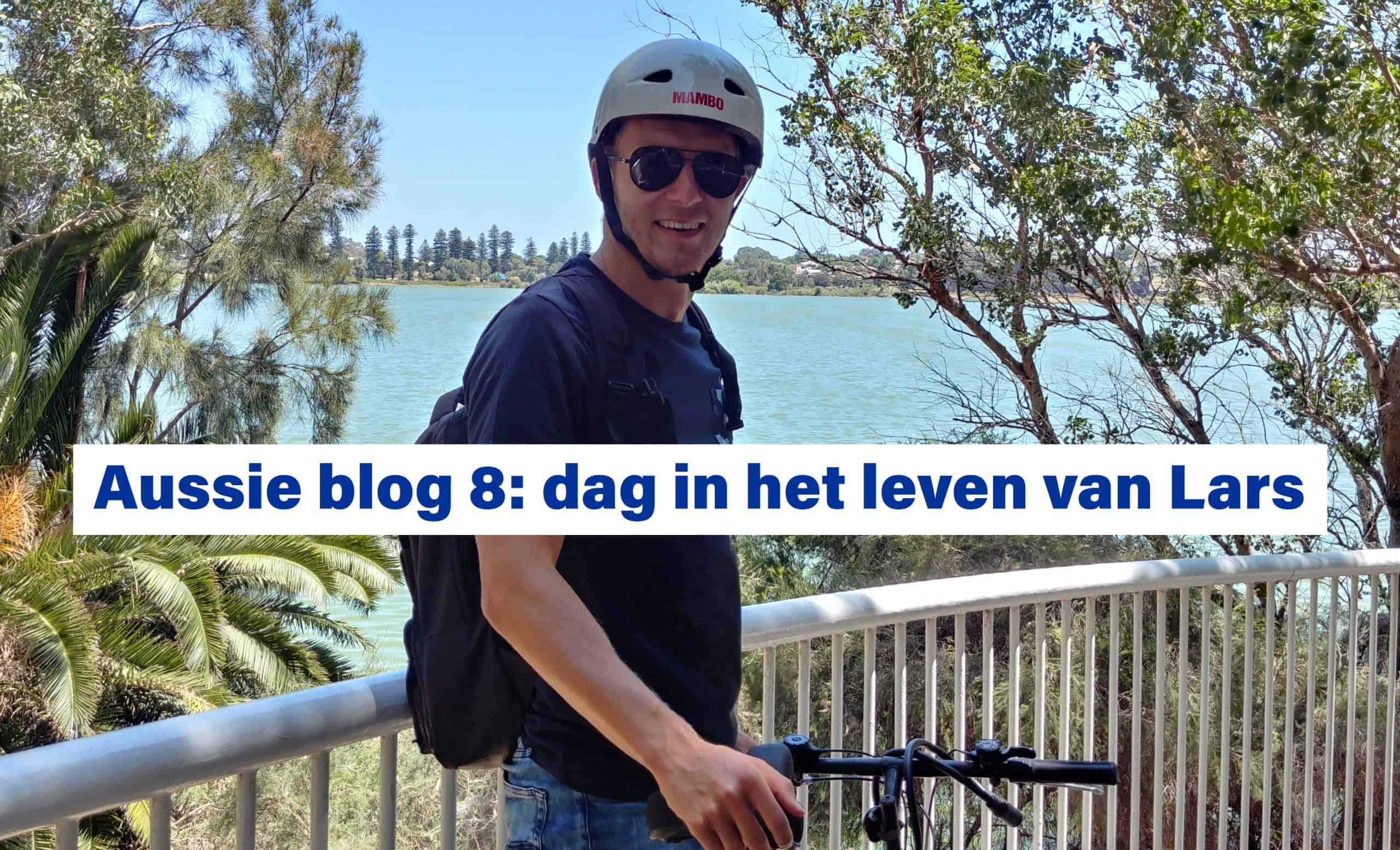 Aussie blog 8: dag in het leven van Lars - openwaterzwemmer Lars Bottelier is in Australië voor een trainingsstage - Lars geeft ook clinics, presentaties en meer over openwaterzwemmen, trainingen, topsport en is motivational speaker
