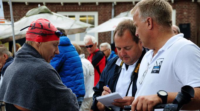 kom in contact met Nederlands beste openwater zwemmer Lars Bottelier - hij gaat graag in gesprek over een samenwerking en beantwoord al je vragen