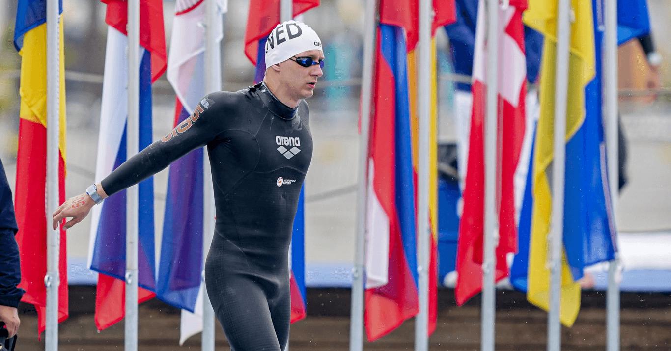 Open water zwemmer Lars Bottelier is vijfde geworden bij zijn debuut op het EK Europese Kampioenschap Europees Kampioenschappen - volg zijn avontuur naar de Olympische Spelen van Parijs 2024 - zwemblog