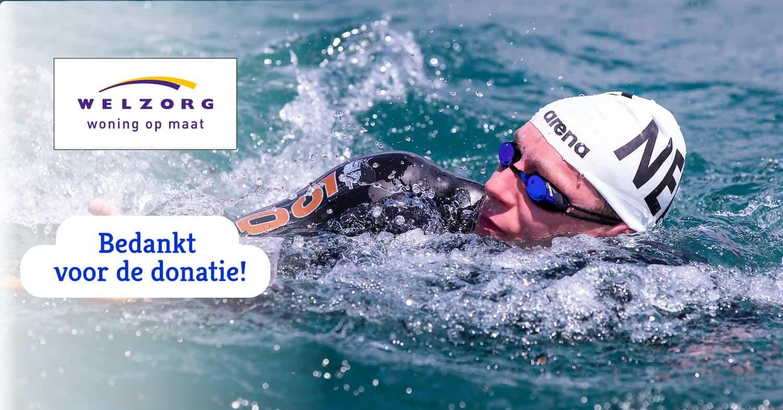Welzorg woning op maat steunt Lars Bottelier - zwemer en openwaterzwemmer- om de Olympische Spelen en de EK WK te halen. Dankzij deze bijdrage kan Lars zijn dromen blijven waarmaken.
